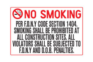 Per F.D.N.Y Code Section 1404
