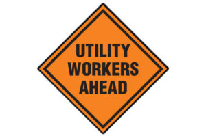 Utility Workers Ahead