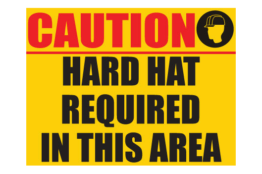 Hard Hat Requied In This Area