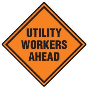 Utility Workers Ahead