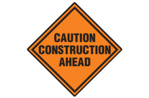 Construction Area ahead