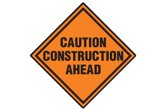 Construction Area ahead