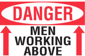 Men Working Above