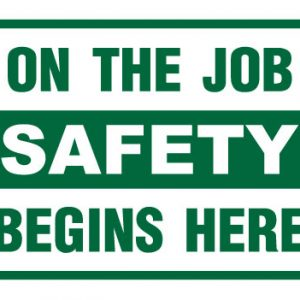 On The JobSafety Begins Here