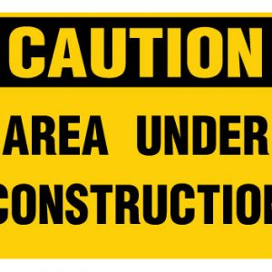 Area Under Construction