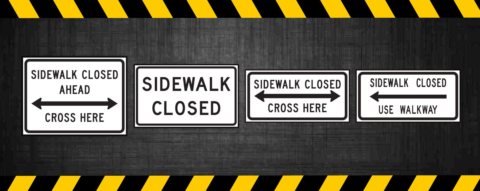 Sidewalk Closed Signs | NY Contractor signs